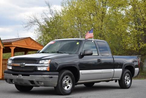 2004 Chevrolet Silverado 1500 for sale at GREENPORT AUTO in Hudson NY