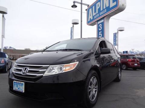 2012 Honda Odyssey for sale at Alpine Auto Sales in Salt Lake City UT