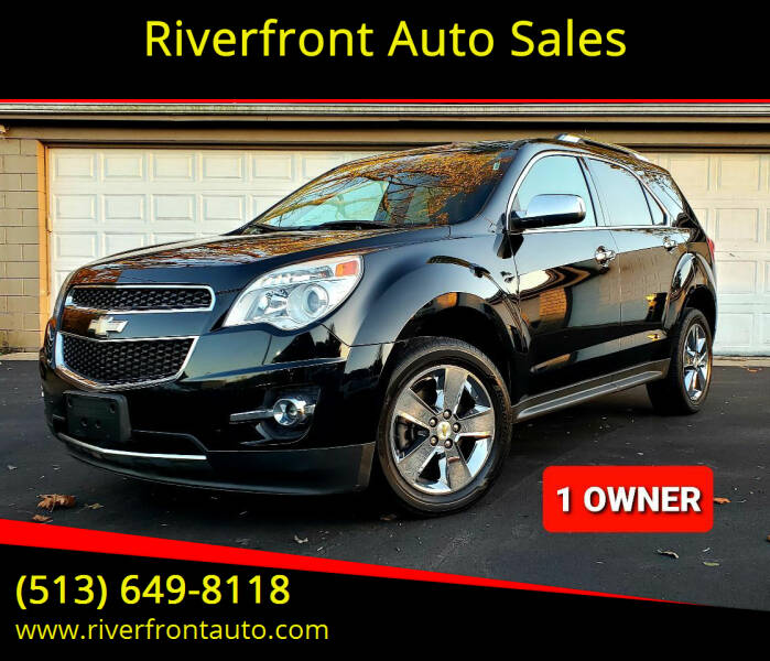 2012 Chevrolet Equinox for sale at Riverfront Auto Sales in Middletown OH