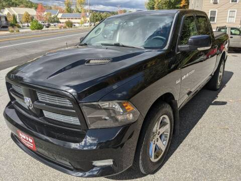 2012 RAM Ram Pickup 1500 for sale at AUTO CONNECTION LLC in Springfield VT