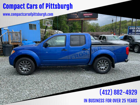 2012 Nissan Frontier for sale at Compact Cars of Pittsburgh in Pittsburgh PA