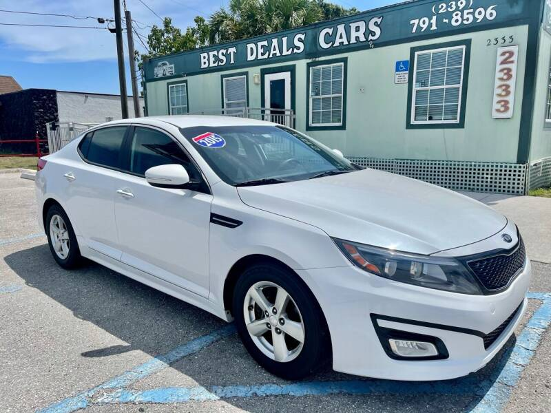 2015 Kia Optima for sale at Best Deals Cars Inc in Fort Myers FL