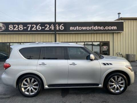 2011 Infiniti QX56 for sale at AutoWorld of Lenoir in Lenoir NC