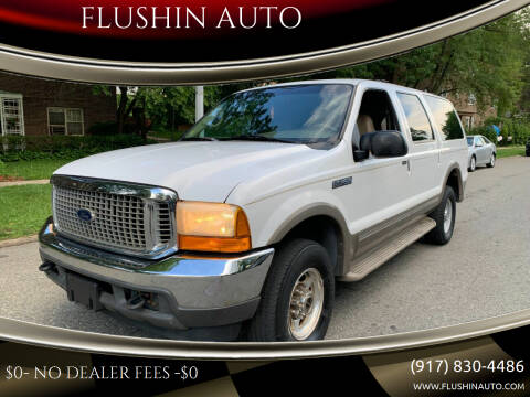 2000 Ford Excursion for sale at FLUSHIN AUTO in Flushing NY