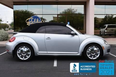 2013 Volkswagen Beetle Convertible for sale at GOLDIES MOTORS in Phoenix AZ