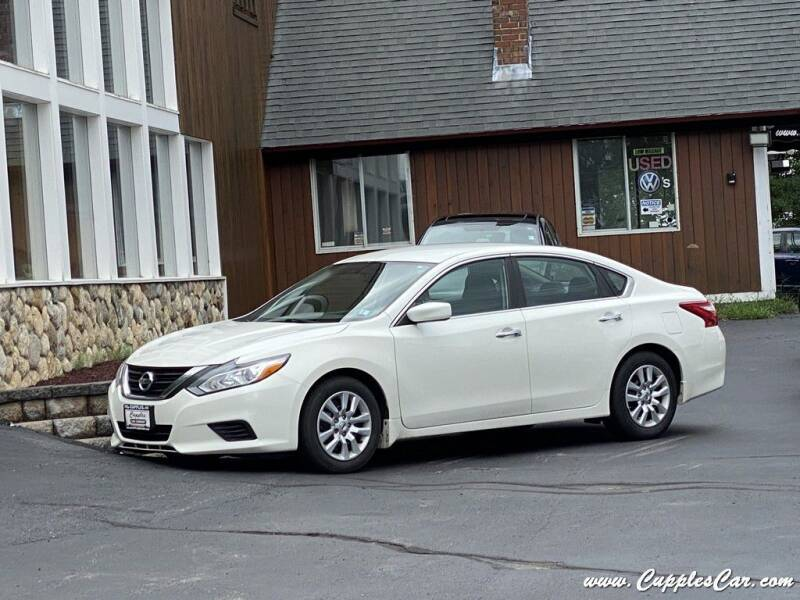 2017 Nissan Altima for sale at Cupples Car Company in Belmont NH