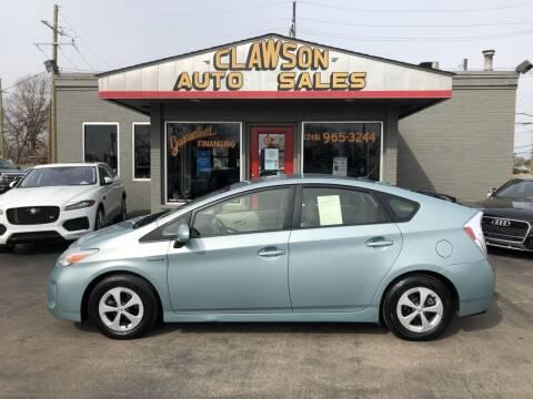 2015 Toyota Prius for sale at Clawson Auto Sales in Clawson MI