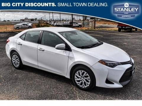 2019 Toyota Corolla for sale at STANLEY FORD ANDREWS in Andrews TX