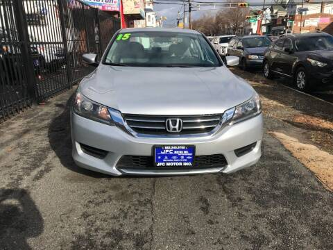 2015 Honda Accord for sale at JFC Motors Inc. in Newark NJ