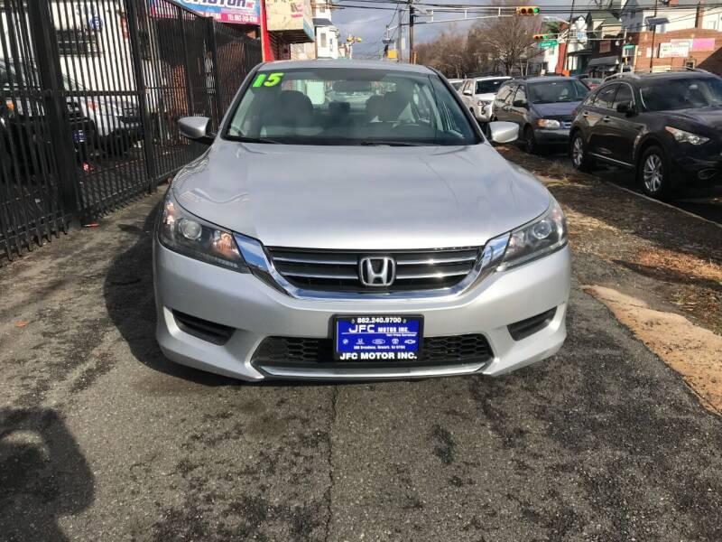2015 Honda Accord for sale at JFC Motors Inc. in Newark NJ