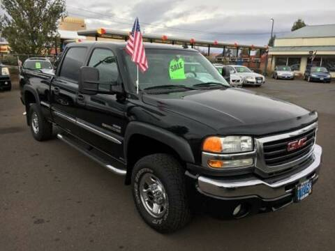 2006 GMC Sierra 2500HD for sale at PJ's Auto Center in Salem OR