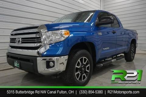 2016 Toyota Tundra for sale at Route 21 Auto Sales in Canal Fulton OH