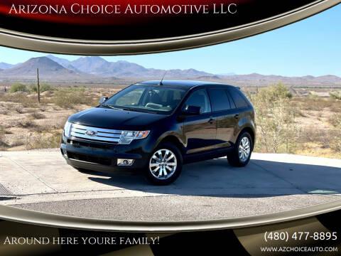 2007 Ford Edge for sale at Arizona Choice Automotive LLC in Mesa AZ