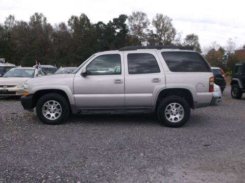 2004 Chevrolet Tahoe for sale at Car Check Auto Sales in Conway SC