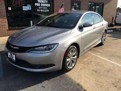 2015 Chrysler 200 for sale at Bankruptcy Car Financing in Norfolk VA