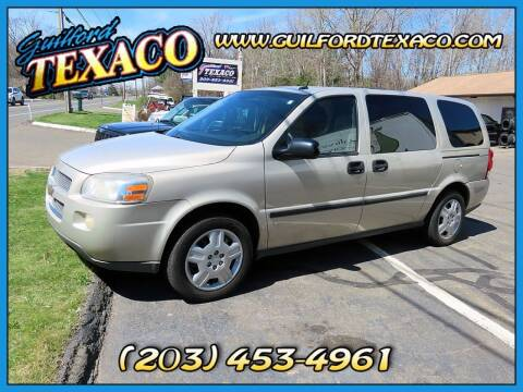 2007 Chevrolet Uplander for sale at GUILFORD TEXACO in Guilford CT