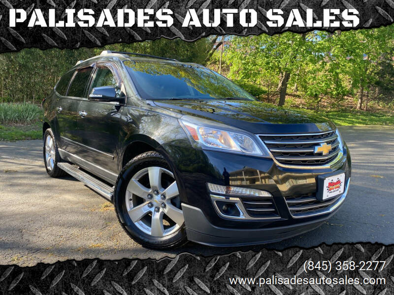 2014 Chevrolet Traverse for sale at PALISADES AUTO SALES in Nyack NY
