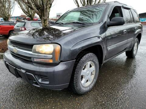 2003 Chevrolet TrailBlazer for sale at Blue Line Auto Group in Portland OR