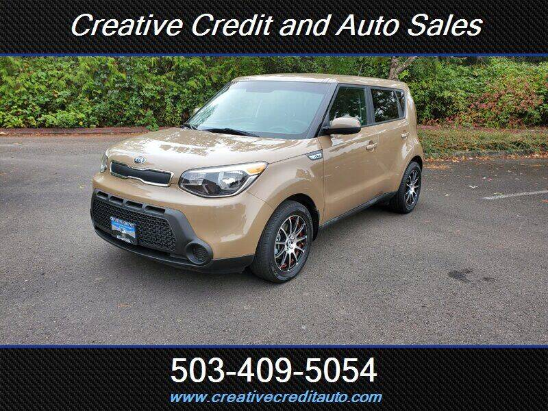 2015 Kia Soul for sale at Creative Credit & Auto Sales in Salem OR
