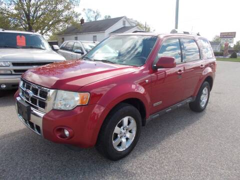 2008 Ford Escape for sale at Jenison Auto Sales in Jenison MI