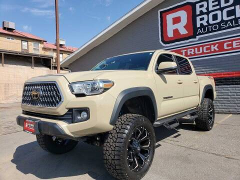 2018 Toyota Tacoma for sale at Red Rock Auto Sales in Saint George UT