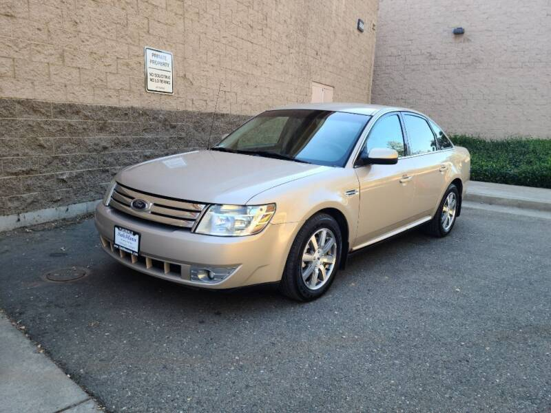 2008 Ford Taurus for sale at SafeMaxx Auto Sales in Placerville CA