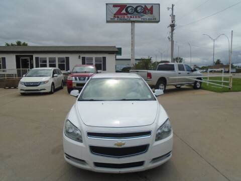 2012 Chevrolet Malibu for sale at Zoom Auto Sales in Oklahoma City OK