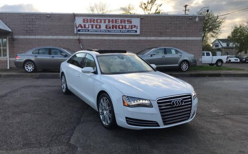 2012 Audi A8 L for sale at Brothers Auto Group in Youngstown OH