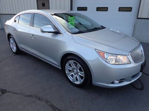 2012 Buick LaCrosse for sale at BETTER BUYS AUTO INC in East Windsor CT