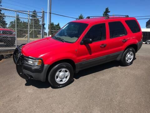2002 Ford Escape for sale at Vista Auto Sales in Lakewood WA
