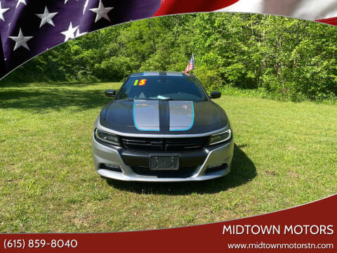 2015 Dodge Charger for sale at Midtown Motors in Greenbrier TN