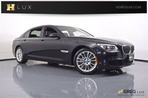 2014 BMW 7 Series for sale at HGREG LUX EXCLUSIVE MOTORCARS in Pompano Beach FL