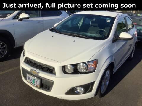 2012 Chevrolet Sonic for sale at Royal Moore Custom Finance in Hillsboro OR