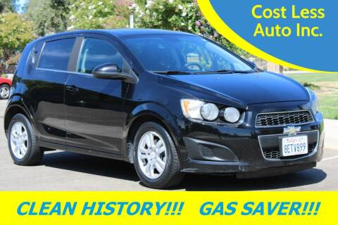2012 Chevrolet Sonic for sale at Cost Less Auto Inc. in Rocklin CA