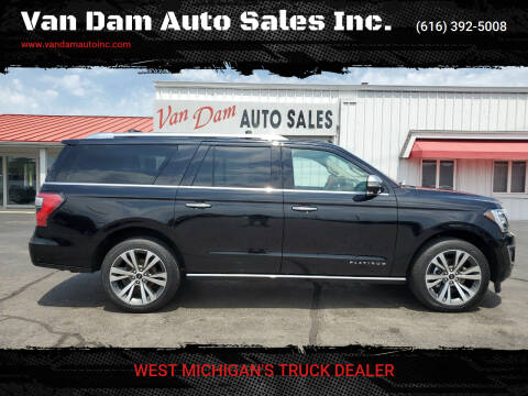 2020 Ford Expedition MAX for sale at Van Dam Auto Sales Inc. in Holland MI
