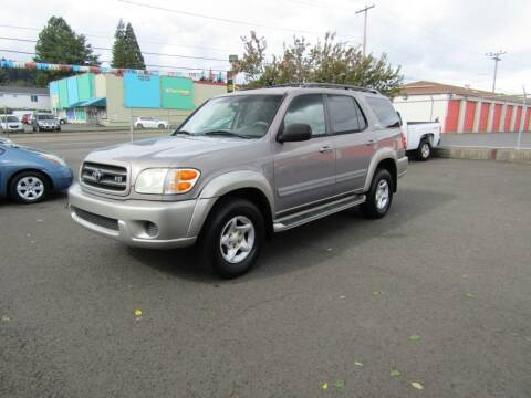 2002 Toyota Sequoia for sale at ARISTA CAR COMPANY LLC in Portland OR