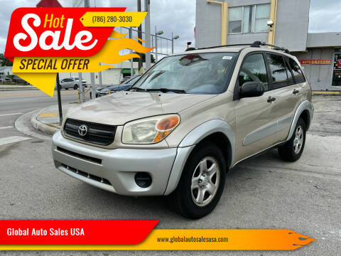 2004 Toyota RAV4 for sale at Global Auto Sales USA in Miami FL