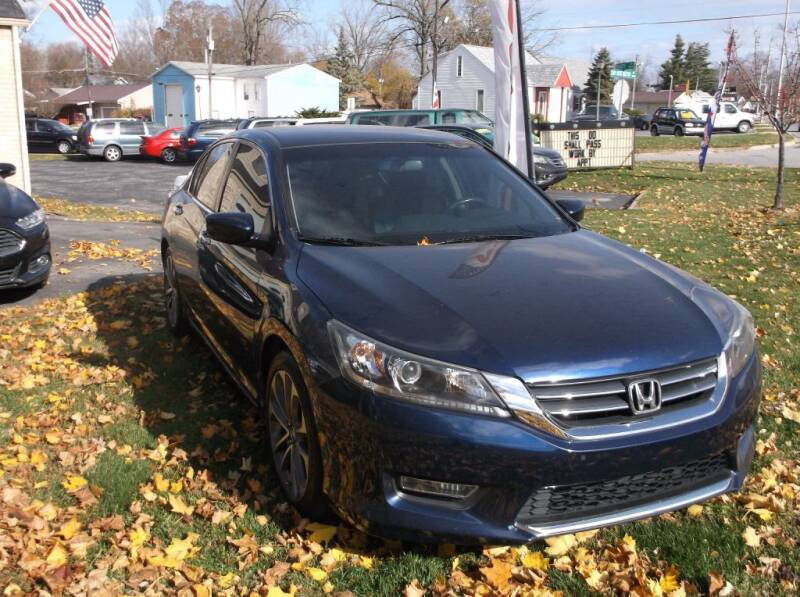 2013 Honda Accord for sale at Straight Line Motors LLC in Fort Wayne IN
