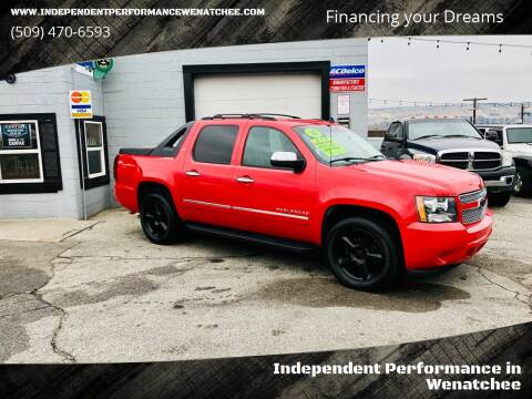 2010 Chevrolet Avalanche for sale at Independent Performance Sales & Service in Wenatchee WA