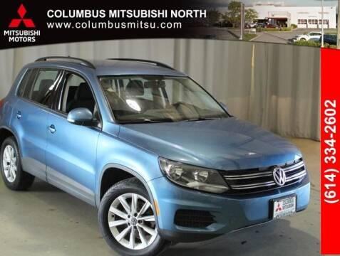 2017 Volkswagen Tiguan for sale at Auto Center of Columbus - Columbus Mitsubishi North in Columbus OH