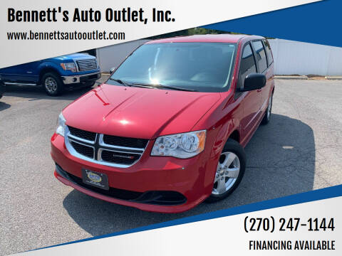 2013 Dodge Grand Caravan for sale at Bennett's Auto Outlet, Inc. in Mayfield KY