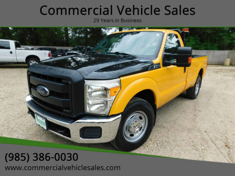 2013 Ford F-250 Super Duty for sale at Commercial Vehicle Sales in Ponchatoula LA