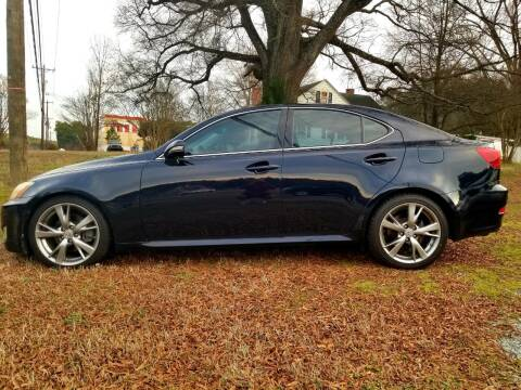 2010 Lexus IS 250 for sale at Progress Auto Sales in Durham NC