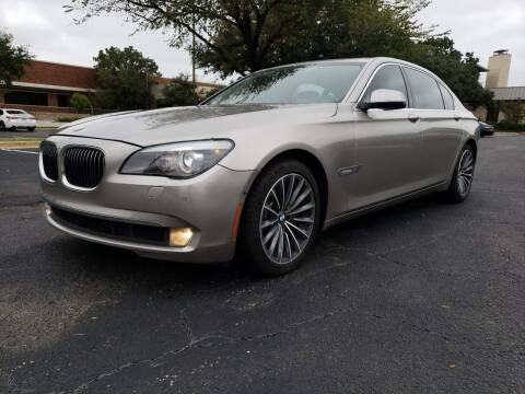 2012 BMW 7 Series for sale at ZNM Motors in Irving TX