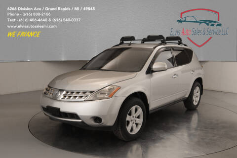 2007 Nissan Murano for sale at Elvis Auto Sales LLC in Grand Rapids MI