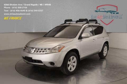 2007 Nissan Murano for sale at Elvis Auto Sales LLC in Grand Rapids MI