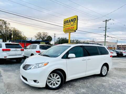 2011 Toyota Sienna for sale at Grand Auto Sales in Tampa FL