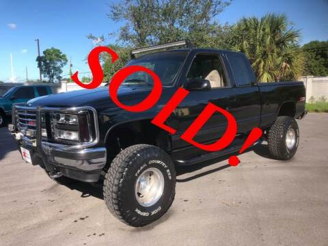 1993 GMC C/K 1500 Series for sale at RPM Motors LLC in West Palm Beach FL