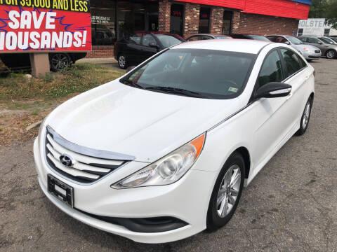 2014 Hyundai Sonata for sale at HW Auto Wholesale in Norfolk VA
