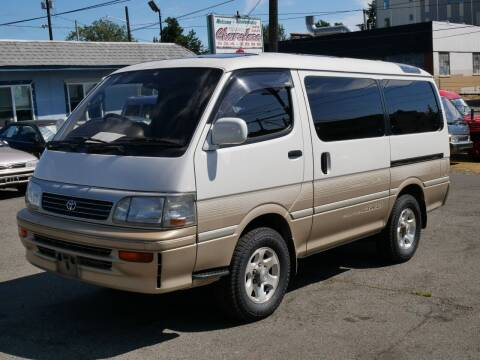 1995 Toyota Hiace SC Limited AWD T-Diesel for sale at JDM Car & Motorcycle LLC in Seattle WA